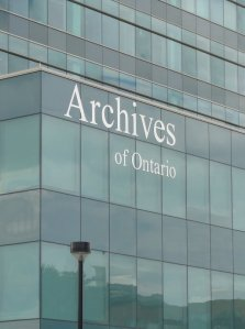 New Archives of Ontario building