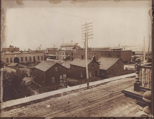 Main and Mill Streets, c.1900