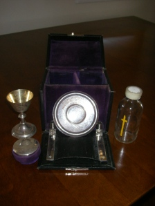 Rev. Creeggan's communion set