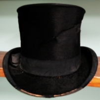 Joseph Thompson's top hat