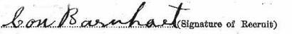 Con Barnhart's signature
