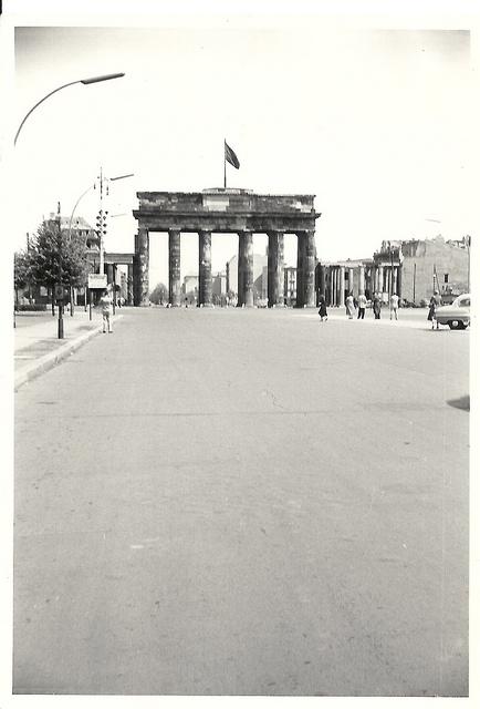 Brandenburg Gate 1955