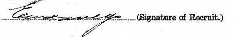 Ernest Walter Davey signature