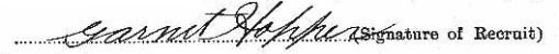 Garnet Hopper's signature