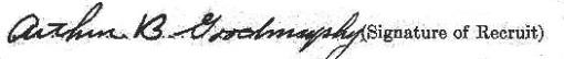 Arthur Goodmurphy signature