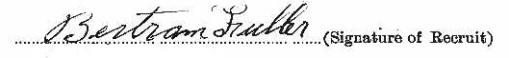 Bertram Fuller signature
