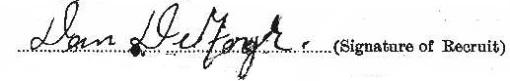 Dan Deforge signature