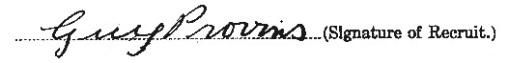 Guy Provins signature