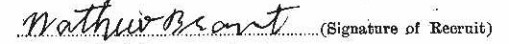 Matthew Brant signature