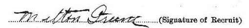 Milton Greene signature