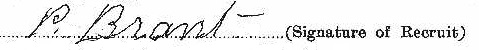 Philip Brant signature