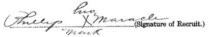 Phillip Maracle signature