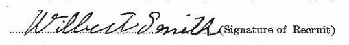 Wilbert Smith signature