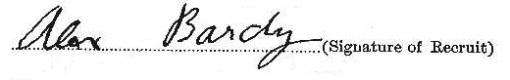 Alex Bardy signature