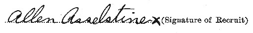 Allen Asselstine signature