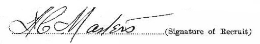 Amos Campbell Masters signature