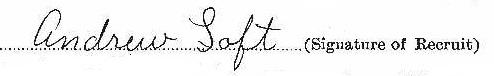 Andrew Loft signature