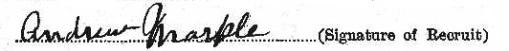 Andrew Markle signature
