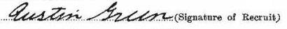 Austin Green signature