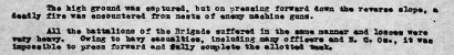 Extract from war diary of 52nd Battalion 1 Oct 1918
