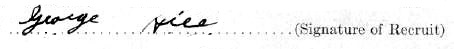 George Mark Hill (Maracle) signature