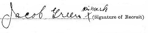 Jacob Green 2 signature
