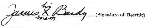 James Bardy signature