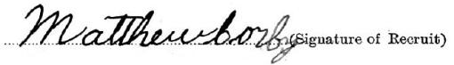 Matthew Corby signature