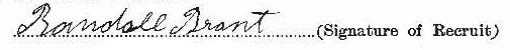 Randall Brant signature