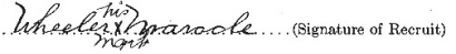 Wheeler Maracle signature