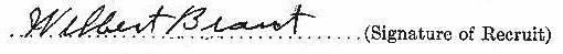 Wilbert Brant signature (1)