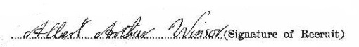 Albert Arthur Windsor signature