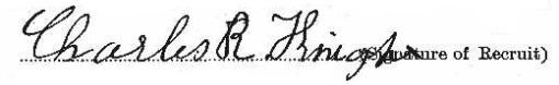 Charles Richard Knight signature