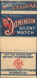 Dominion Silent Match box