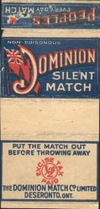 Dominion Silent Match box