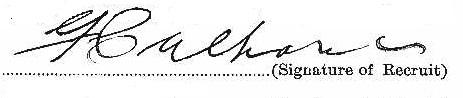 Frank Culhane signature
