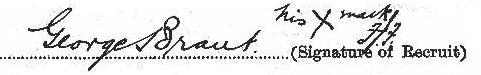 George Brant signature