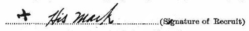 Joseph Maricle signature