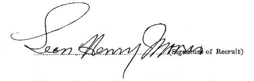 Leon Henry Morris signature