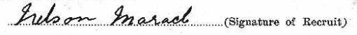 Nelson Maracle signature