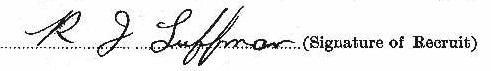 Robert John Luffman signature