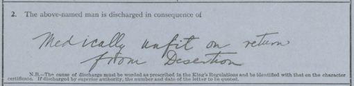 William Edward Maracle discharge