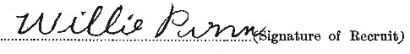 William Pinn signature