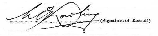 Cornelius Dowling signature