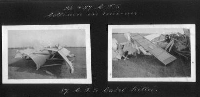 William Sidney Gallie's crashed plane