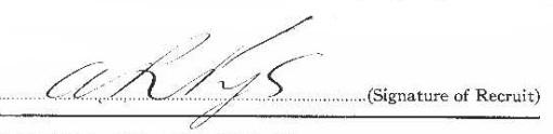 Alexander Roderick Pye signature