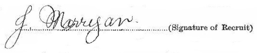 John Joseph Marrigan signature