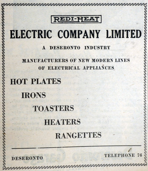 1948 May 28 Redi-heat ad