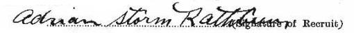 Adrian Storm Rathbun signature