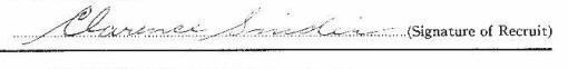 Clarence Edmund Snider signature